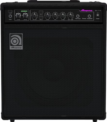 Ampeg BA112v2 1 x 12-Inch Combo Bass Amplifier by Ampeg