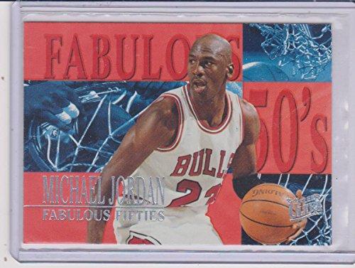 1995 Fleer Ultra Michael Jordan Bulls Fabulous 50's Insert Basketball Card #5 of 7]()