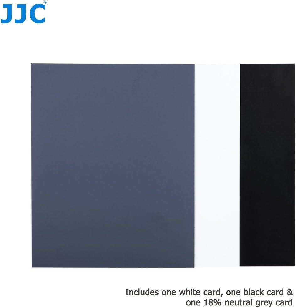 PROfoto.Trend//JJC Gro/ß Gr/ö/ße Balance Cards 3 St/ück Wei/ß // 18/% Neutralgrau // Schwarz 10 x 8 // 254 x 202mm