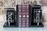 Kodak Jiffy Six-16 - Six-20 - Vintage Camera Bookends