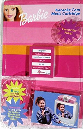 Barbie Karaoke Cam Music Cartridge Favorite Hits