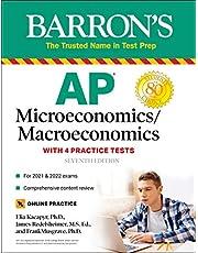 AP Microeconomics/Macroeconomics with 4 Practice Tests