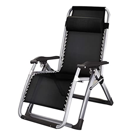 Amazon.com: Sillón reclinable YTF/silla plegable, bloqueo de ...