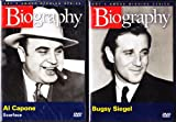 Product Name: Al Capone Biography , Bugsy Siegel Biography : Mafia 2 Pack