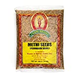 Laxmi Traditional Indian Spices Methi Seeds (Fenugreek Seeds) - Case Pack (20, 7oz Packets)