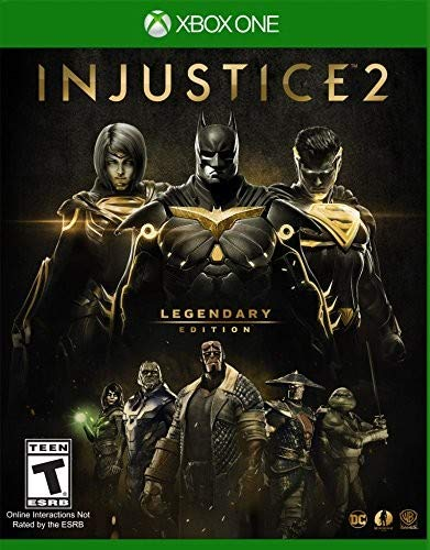 Injustice 2: Legendary Edition - Xbox One (Superman Xbox One Game)