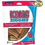 KONG Stuff'N Ziggies Large Dog Treat, 8-Ounce (Pack of 3)