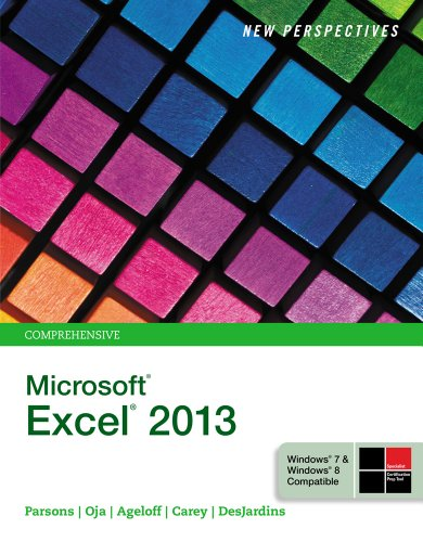New Perspectives on Microsoft Excel 2013, Comprehensive Pdf