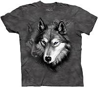 The Mountain Wolf Portrait Short Sleeve ...
