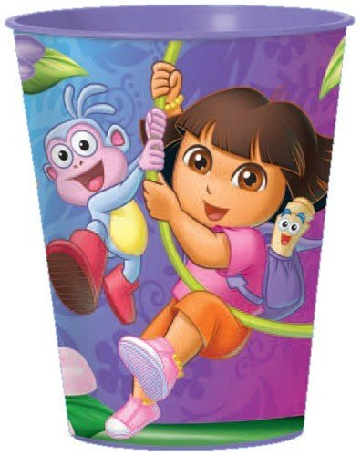 Dora's Flower Adventure Party Souvenir Cups 12 Pack