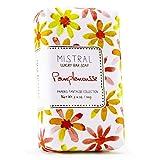 Mistral Papiers Fantaise Collection Grapefruit PAMPLEMOUSSE 3.14 oz Bar Soap by Mistral
