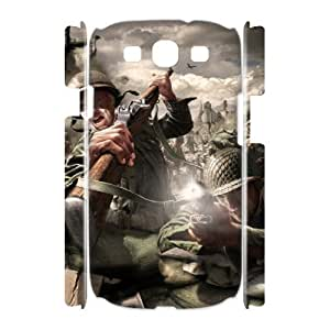 C-EUR Call Of Duty Customized Hard 3D Case For Samsung Galaxy S3 I9300