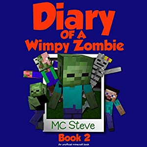 Diary of a Wimpy Zombie, Book 2 Audiobook