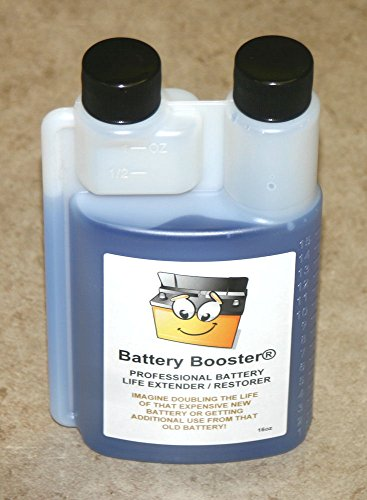 Battery Booster desulfator rejuvenator Conditioner additive 16oz (16) (Battery Additive)