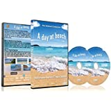 Beach DVD - A Day At The Beach - For Relaxation With Ocean Sounds by Relax with worlds most beautiful beaches with sound of the waves