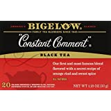 Bigelow Constant Comment Tea, 20-Count Boxes (Pack of 6)