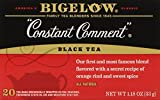 Bigelow Constant Comment Tea, 20-Count Boxes (Pack of 6)