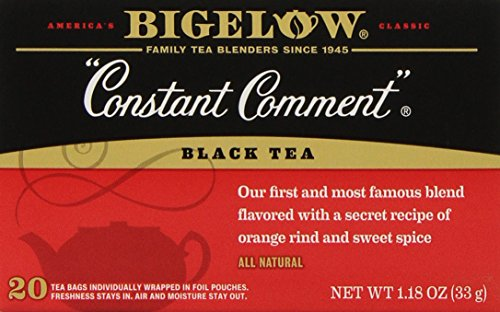Bigelow Constant Comment Tea, 20-Count Boxes, 1.18 Oz  (Pack of 6)