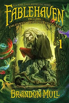 Fablehaven No. 1: Fablehaven; Rise of the Evening Star 1442428651 Book Cover