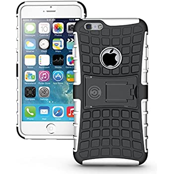 f29b425e01 iPhone 6 Plus Case, iPhone 6 plus or 6S Plus Armor cases 6 plus Tough  Rugged Shockproof Armorbox Dual Layer Hybrid Hard or Soft Slim Protective  Case by ...