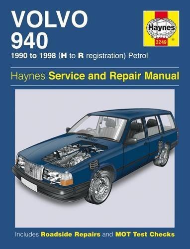 Volvo 940 Service and Repair Manual (Haynes Service and Repair Manuals) (2013-04-15)