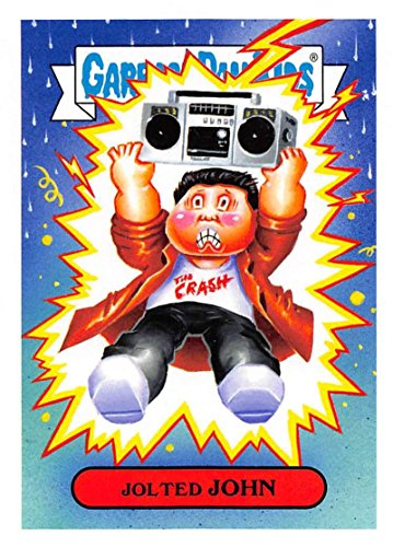 2018 Topps Garbage Pail Kids Series 1 We Hate the 80s Trading Cards 80s MOVIES #8B JOLTED JOHN ()