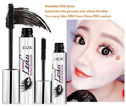 (Tailisha) Nicebelle DDK 4D Mascara Cream, Makeup Lash, Cold Waterproof; Warm Water Washable, Eye Black, Eyelash Extension, Super-long style and Crazy-long Style