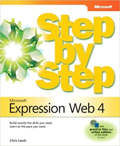 Book Microsoft Expression Web 4 Step by Step by Chris Leeds (2011-01-05)
