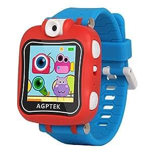 AGPtek W6 Reloj inteligente para niños con Rotación cámara