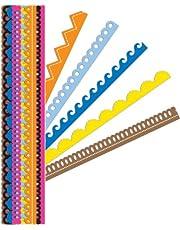 K&Company Sheer Simplicity Bright Adhesive Borders