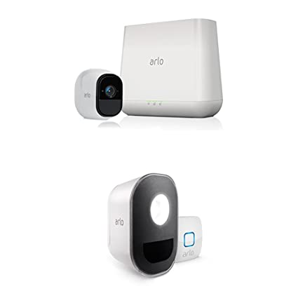 amazon com arlo pro security system with siren 1 rechargeableHome Security Siren Wiring #10