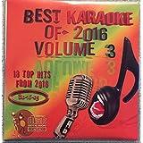 Best Of Karaoke 2016 Volume 3 CD+Graphics CDG 18 Pop & Country Tracks Lady Gaga Charie Puth Major Lazer The Chainsmokers Sam Hunt Keith Urban Justin Moore Miranda Lambert Eric Church Dan & Shay