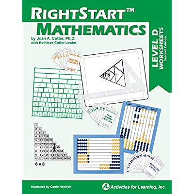 RightStart Mathematics Level D Worksheets: Industrial & Scientific
