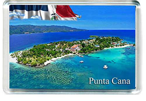 D319 Punta Cana Refrigerator Magnet The Dominican Republic Travel Fridge Magnet ()