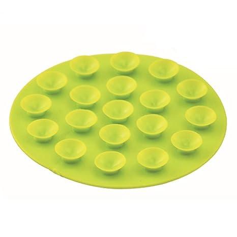 Mantel individual con ventosa antideslizante para beb/és y ni/ños verde Hemore Baby Products