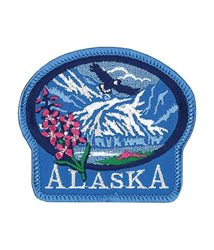 Alaska National Park Logo Flag Patch Series Embroidered Sew/Iron on Badge DIY Appliques]()