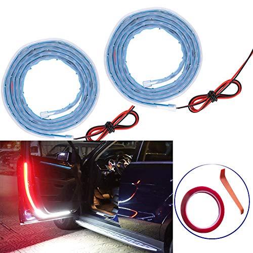 2pcs Universal Car Door Warning Lights Accessories Lights