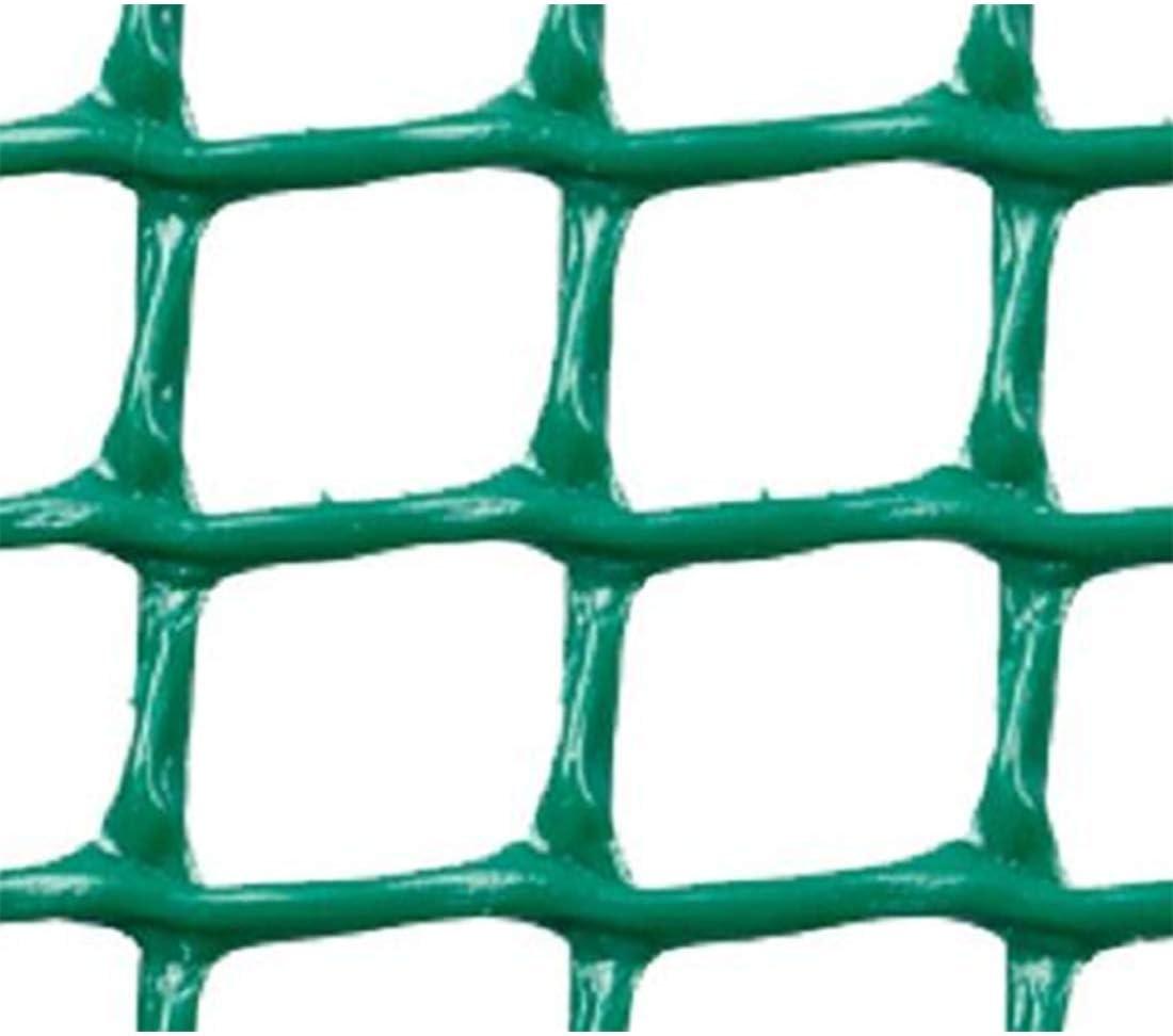 Faura 1x5m - Malla PLASTICA Cuadrada 2x2 cm Verde
