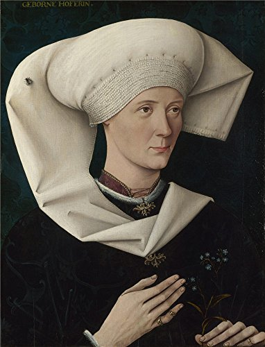 Oil Painting 'Swabian-Portrait Of A Woman Of The Hofer Family,about 1470' 8 x 10 inch / 20 x 27 cm , on High Definition HD canvas prints is for Gifts And Bed Room, Dining Room And Kids Room Decoration