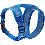 Coastal Pet Products DCP6413BLU Nylon Comfort Soft Adjustable Dog Harness, X-Small, Blue