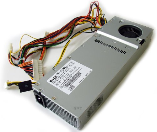 GENUINE DELL 210Watt 210W Power Supply For Optiplex GX60, GX240, GX260, GX270, GX280 Small Desktop and Dimension 4300S, 4500S (SD) Systems, Compatible Part Numbers: U5425, W5184 Model numbers: NPS-210AB C, ()