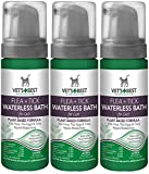 (3 Pack) Vet's Best Natural Flea and Tick Waterless Bath Foam for Cats, 5 oz