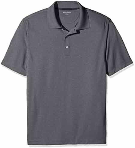 Amazon Essentials Men's Quick-Dry Golf Polo Shirt