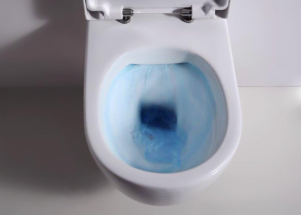 Erstaunlich Design Hänge WC Spülrandlos Toilette inkl. WC Sitz mit Softclose  GB22