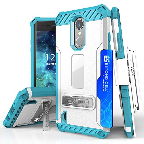Beyond Cell Phone Case for LG Aristo - White/Light Blue from Beyond Cell