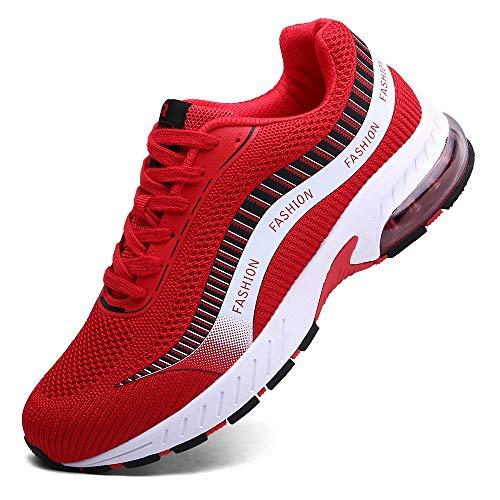 XIDISO Running Shoes Mens Women Air Trail Mesh Sneakers Athletic Walking Cross Training Tennis Sports Shoe for Men