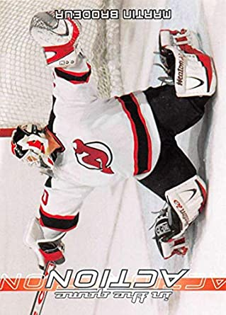 2003-04 In The Game Action Hockey  357 Martin Brodeur New Jersey Devils 30db88baa