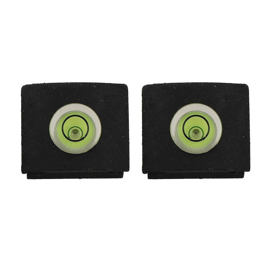 Wudi 2 Pc tragbare Kamera-Niveau Level Hot Shoe Cover Fackel-Schutz fü r Sony SLR Grü n schwarz-Kamera