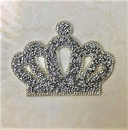 e43824902b Crown Rhinestone Applique Iron on Transfer Applique Patch, Price for 1 Pcs