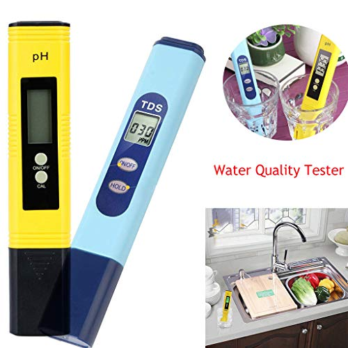 - Maikouhai Pen-Type PH Meter, Water Quality Test Meter, 2 in 1 Multi Electric Digital Measure Test Tool for Aquarium, Drinking Water, Swimming Pools, Hydroponics
